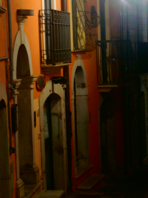 Alleyway in old Potenza