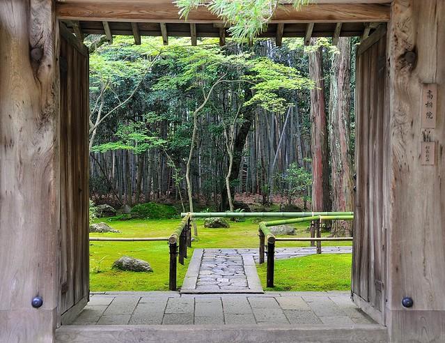 Daitokuji doorway
