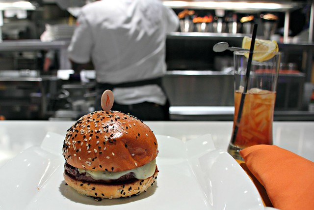 Ûber Cheeseburger at Gordon Ramsay's BURGR, Las Vegas