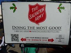 Scanning And Texting Are Donation Options Too