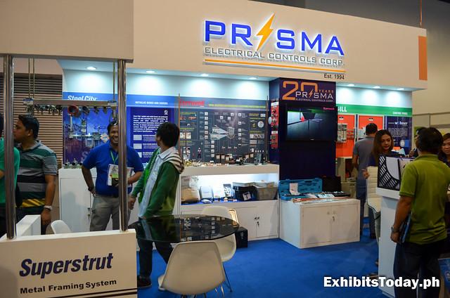 Prisma Exhibit Stand