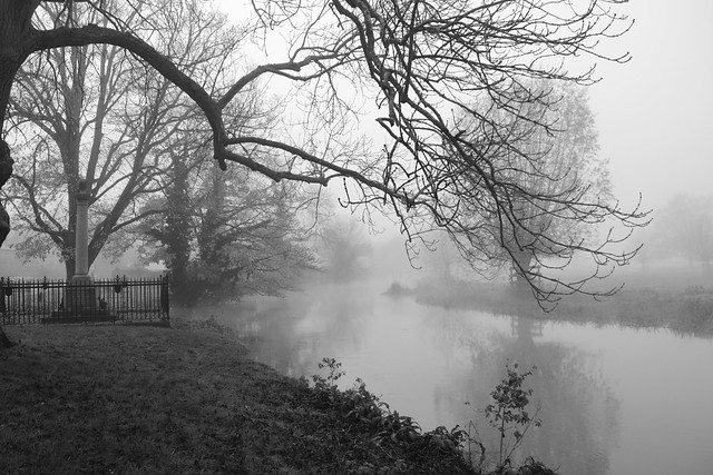 Denford, Foggy Morning. 329/365.