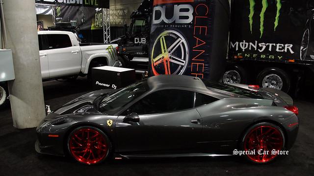 Ferrari 458 Italia on Savini Wheels