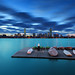 Aquatic Dawn with Storm Clearing over Charles River, MIT Sailing Pavilion, and Back Bay Boston Skyline - Cambridge Massachusetts USA by Greg DuBois - Sponsored by LEE Filters