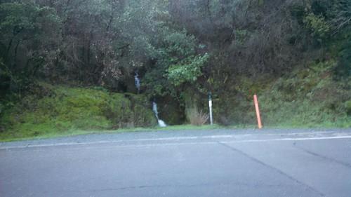Roadside Waterfall on CA-49
