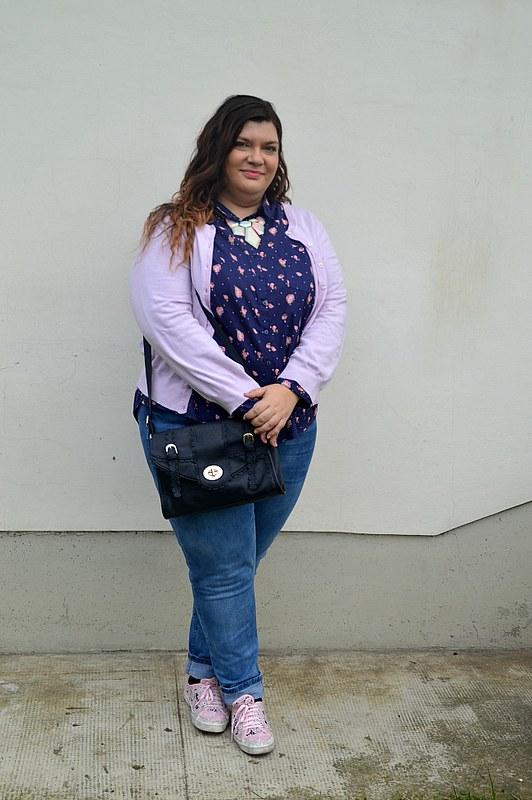 outfit plus size blu e rosa 4