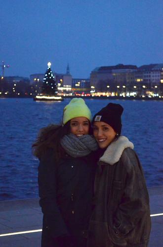 Alba y Belén Weihnachtsmarkt de Hamburgo