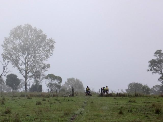 Riders in the Rain