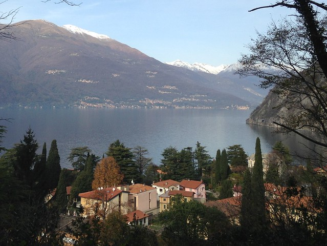 Varenna with Lake Como