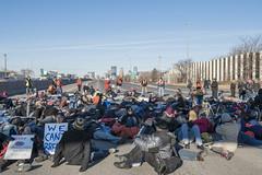 Black Lives Matter closing down I-35