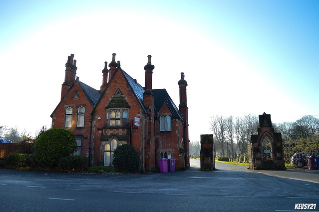 Toxteth Park Cemetery Lodge And Gates