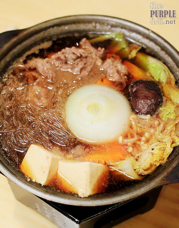 Beef Sukiyaki (P380)