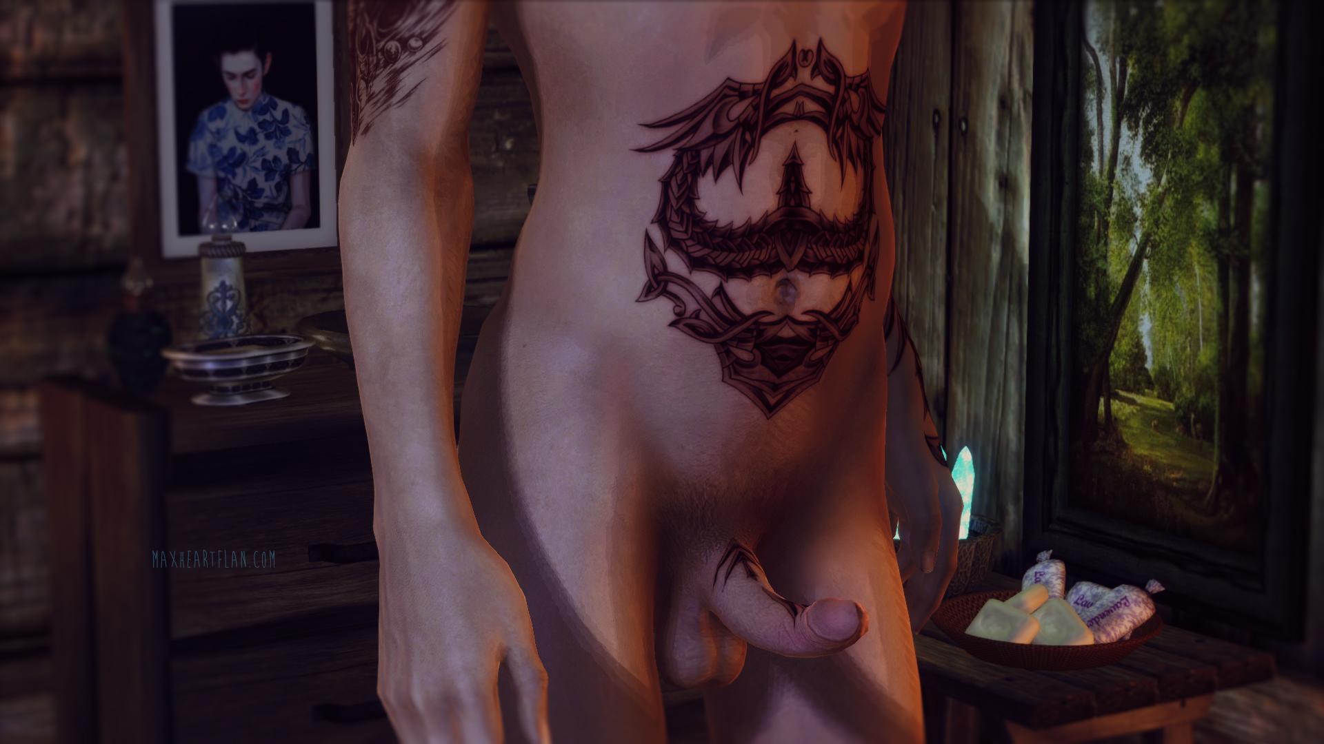 Oblivion Male Nude 120