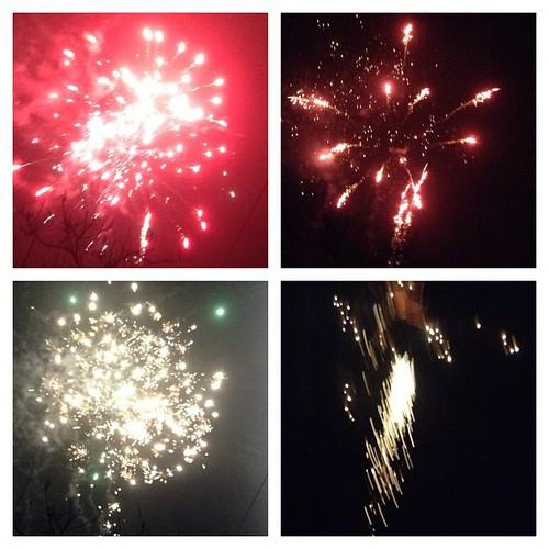 Над маленьким городком в Крыму небо светится! С Новым годом, друзья!!! #старыйкрым