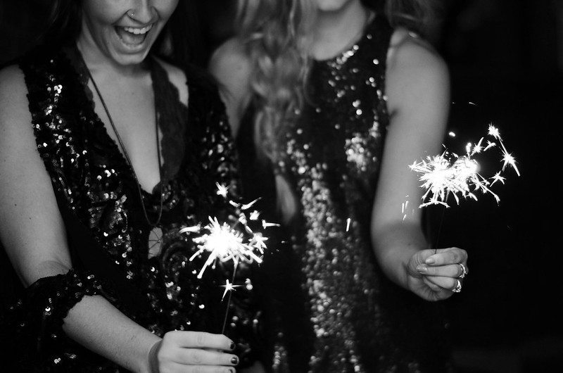 Sequin Dresses and Star Shaped Sparklers on juliettelaura.blogspot.com