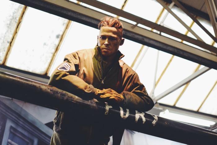 fury brad pitt tank museum
