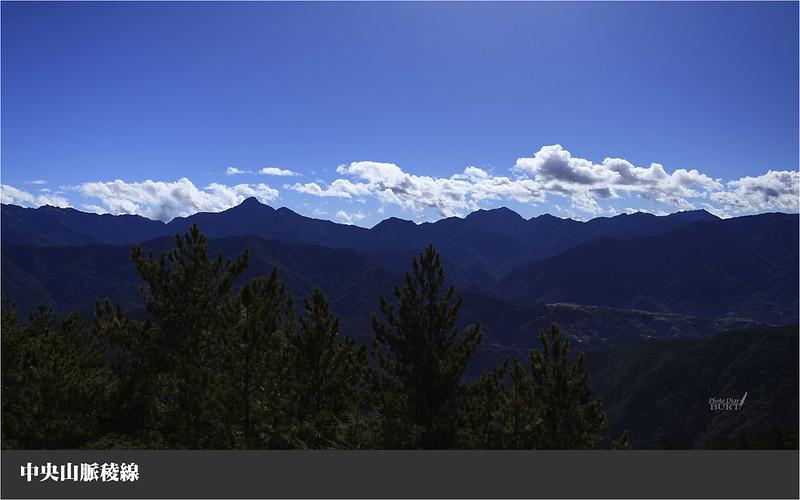 中央山脈稜線