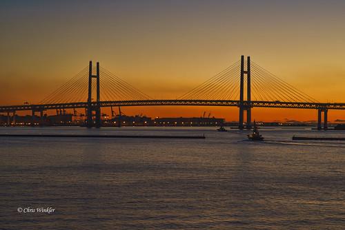 Yokohama Baybridge 横浜ベイブリッジ②