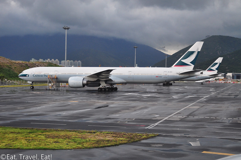 Cathay Pacific at Hong Kong International