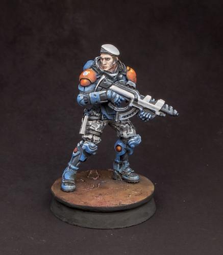 PanO Fusilier Miniature Speedpaint