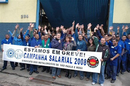 Novas mobilizações da Campanha Salarial 2008