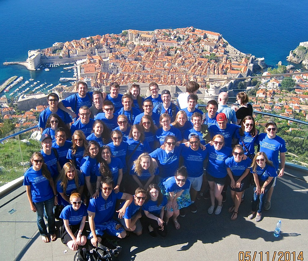 Heinz Chapel Choir on top of Srd Hill in Dubrovnik, Croatia