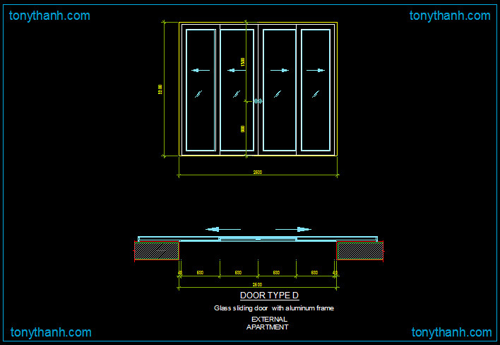 Tonythanhcd02 39 s most interesting flickr photos picssr for Sliding glass doors autocad
