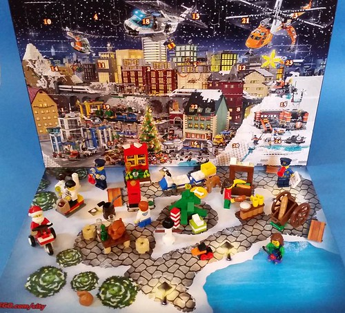 City Advent Calendar Review Day 24 Brickset Lego Set Guide And
