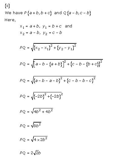 RD-Sharma-class 10-Solutions-Chapter-14-Coordinate Gometry-Ex-14.2-Q1 ii