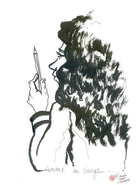 JeSuisCharlie - Crayon - Emily Nudd-Mitchell