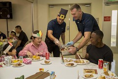 CLR-35 brings Thanksgiving to local children