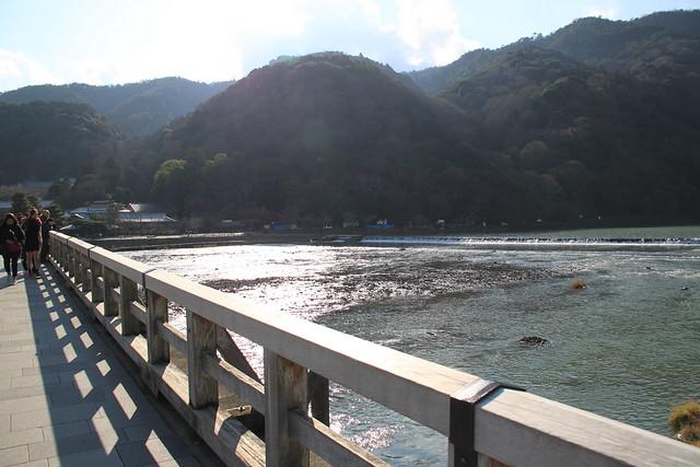 嵐山 - 渡月橋