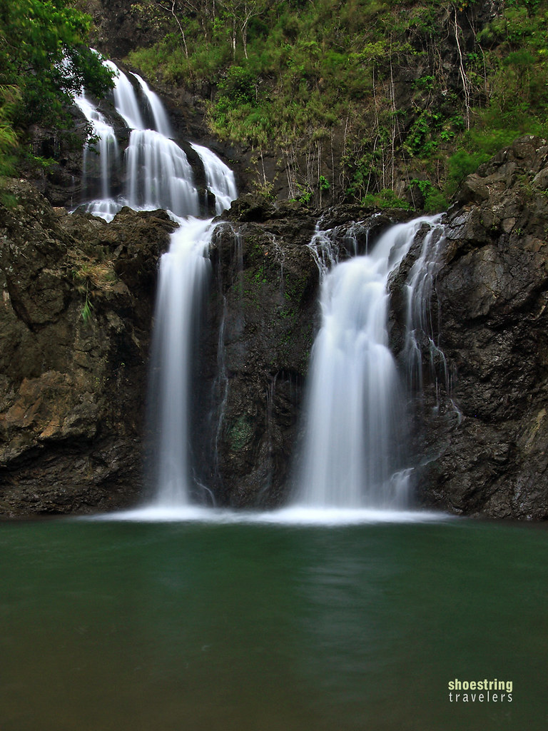 the first tier of Balagbag Falls