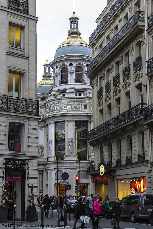 PARIS - Grands magasins du Printemps