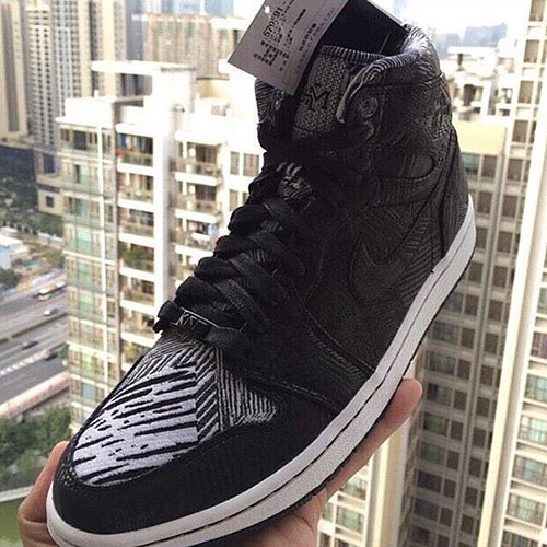 "Air Jordan 1 High ""BHM"" 2015"