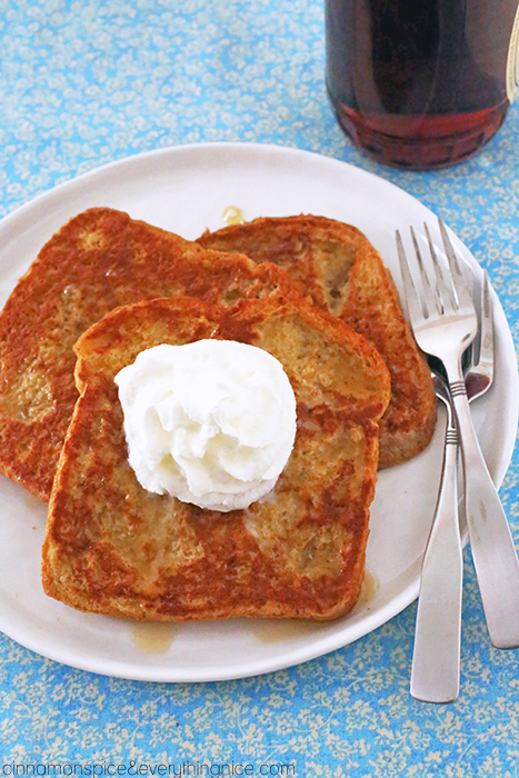 Caramel Macchiato French Toast