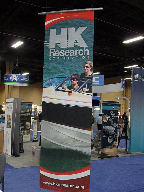 HK Research Trade Show Signs