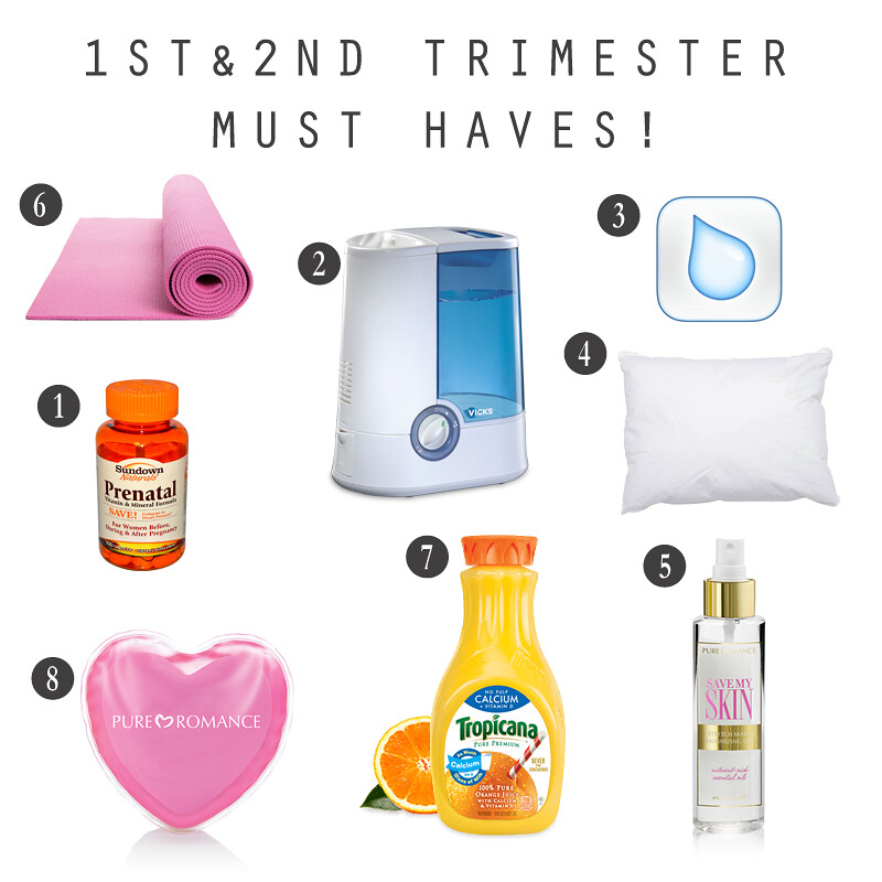 1st and 2nd Trimester Must Haves