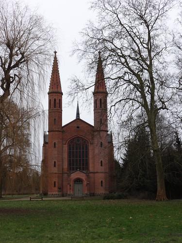 1857/61 Letzlingen neogotische Schloßkirche von Friedrich August Stüler Schloßstraße in 39638