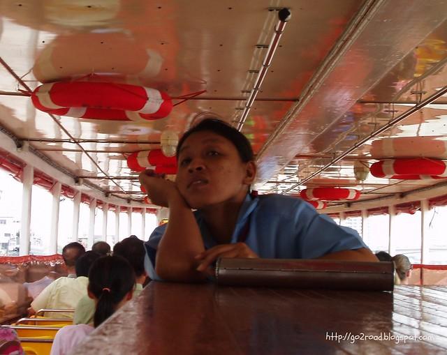Билетерша в Бангкоке