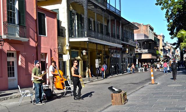 street performers NOLA - musicians