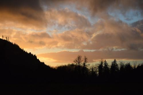 sunset usa nature washington cascades wa washingtonstate darrington darrinton