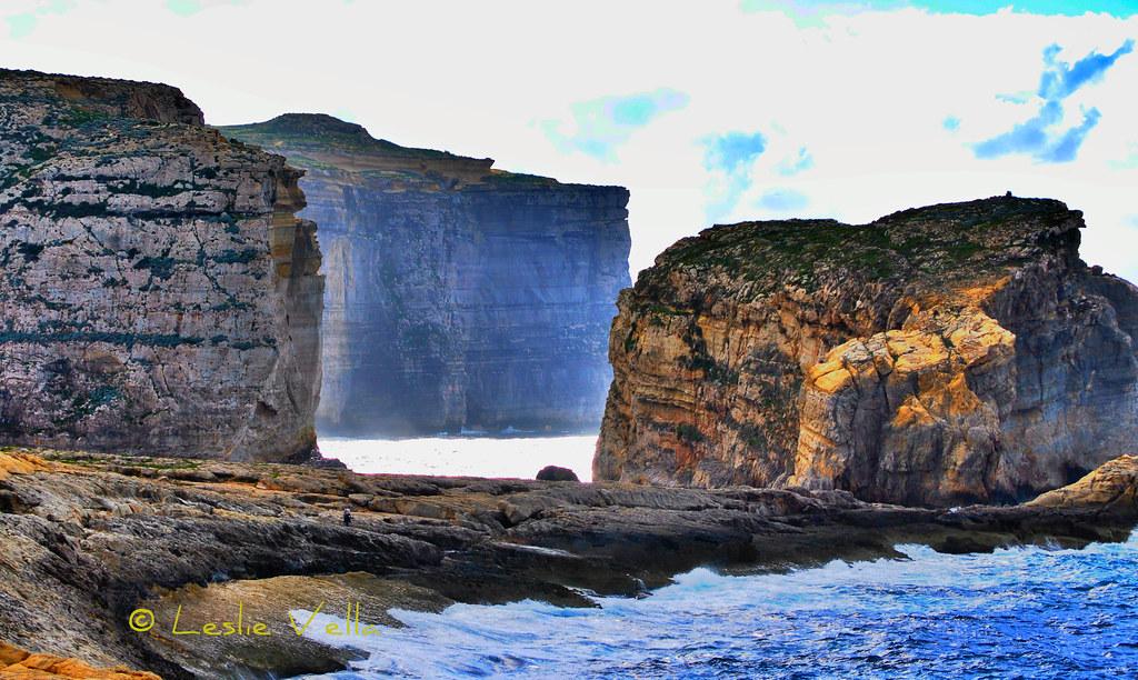Dwejra.  Island of Gozo, Malta