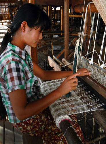 The Weaving Village on Inle Lake, Myanmar: Weaving with Lotus and Silk Threads
