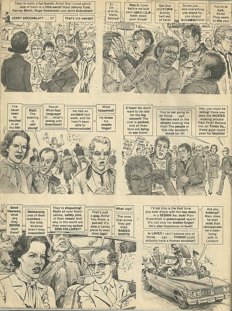 Punk Rock Group Of The Year (Mad Magazine - June 1978) 2/4