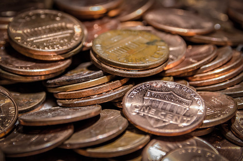 Photo:Pennies for Your Thoughts By:gfred