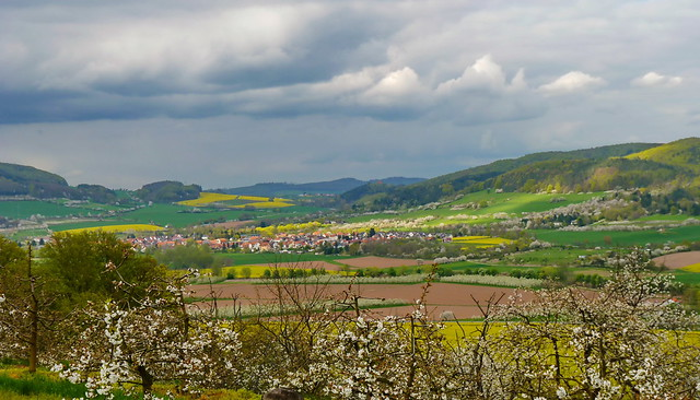 Landscape in Hessen/Germany