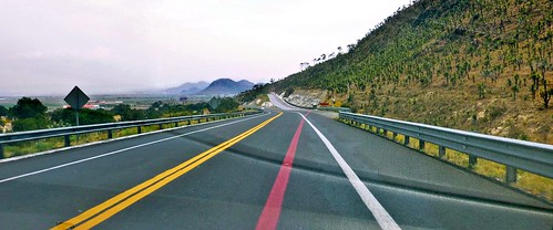 - The Highway near Cantona, Puebla