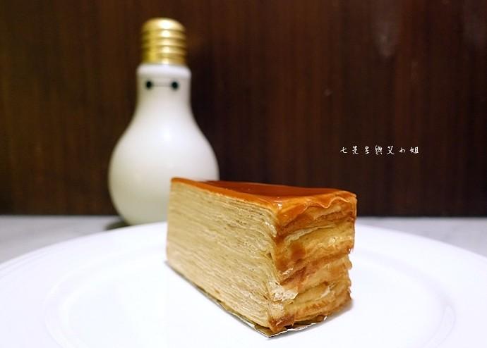 29 台南 深藍咖啡館 千層蛋糕