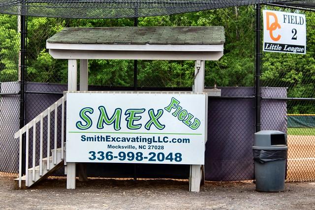Little League Baseball in Davie County
